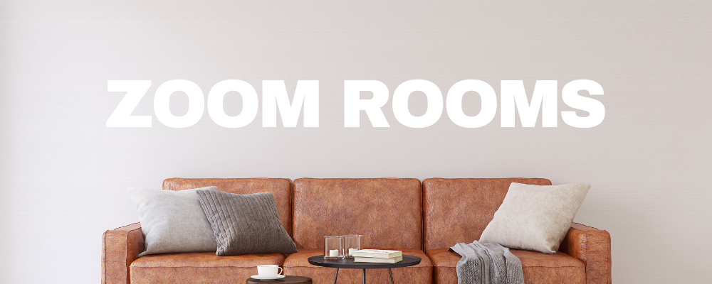 ZOOM ROOMS Website banner